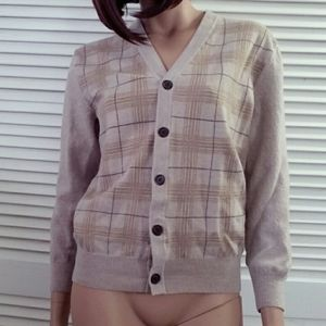 Banana Republic merino wool button sweater